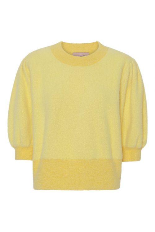 Hunkøn - Bluse - Abira Top - Yellow
