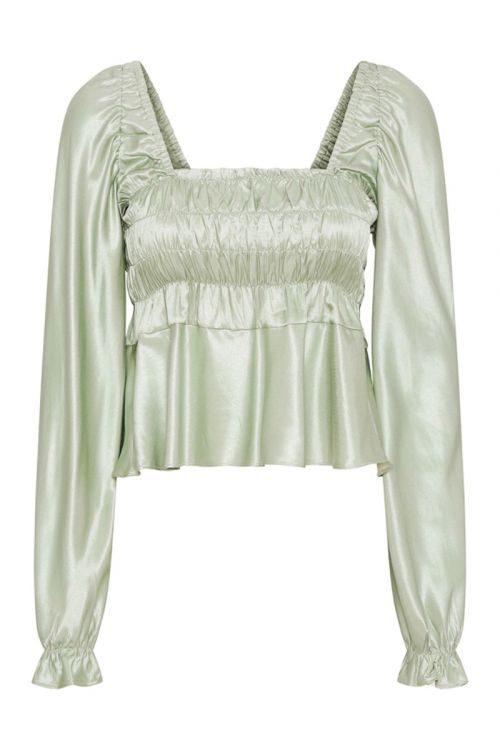 Hunkøn - Bluse - Susana Blouse - Dusty Green