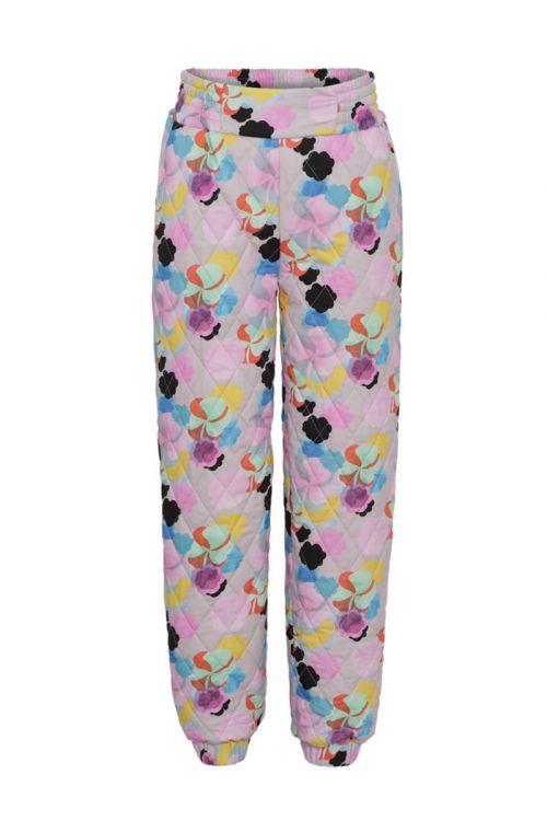 Hunkøn  Bukser  Grace  Quilt Trousers  Candy Clouds Art Print Front