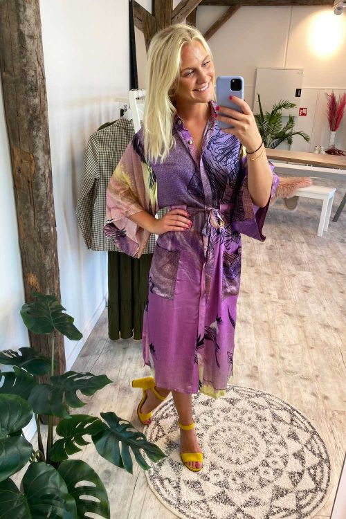 Hunkøn Kimono Savanna Kimono Savanna Art Print Hover