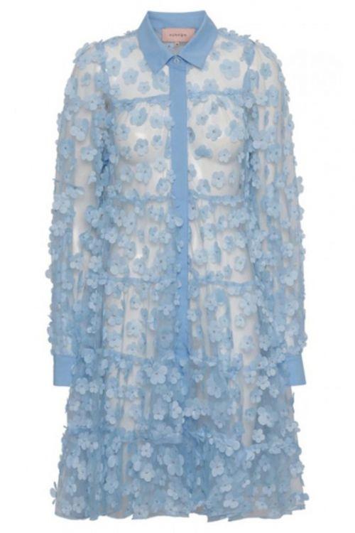 Hunkøn Kjole Florentina Light Blue