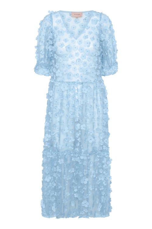 Hunkøn Kjole Florina Dress Light Blue Front