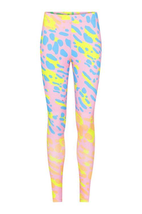 Hunkøn - Leggings - Zapi Yoga Leggings - Mix Stains Art Print