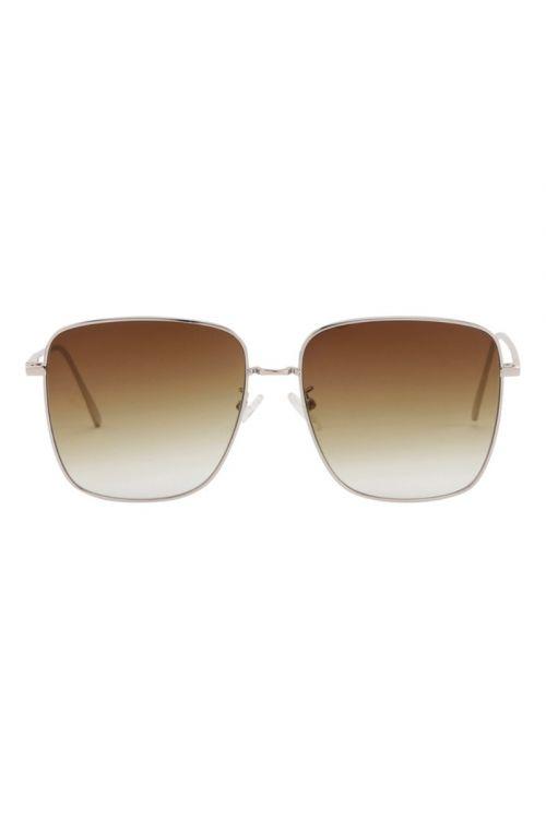 Hunkøn - Solbriller - Sophia Sunglasses - Brown