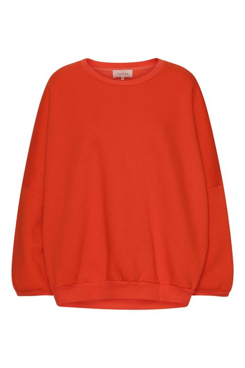 Hunkøn Sweat Ava Sweatshirt Red Front