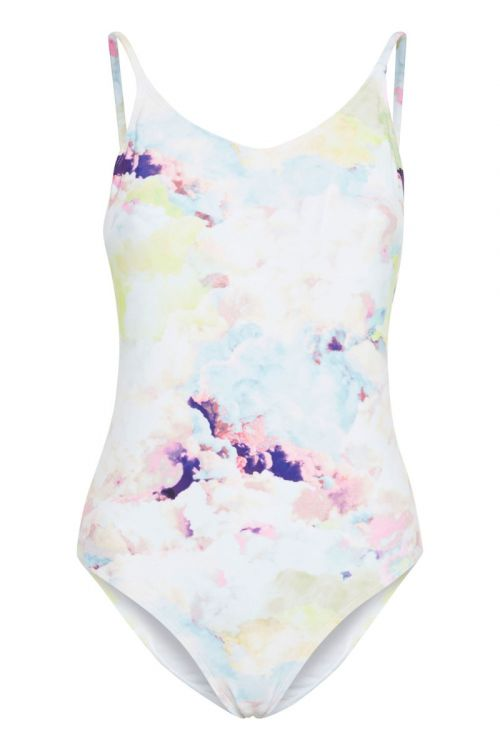 Ichi - Badetøj - IA Badot Swimsuit - Cashmere Blue