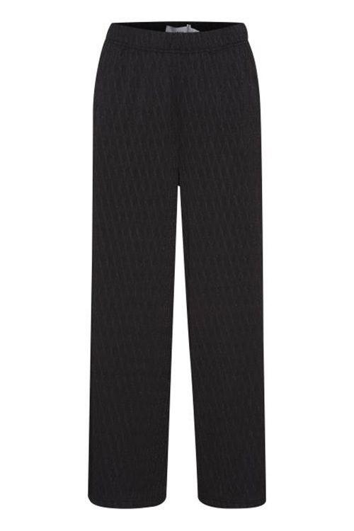 Ichi Bukser IH Tanae Pants Black Front