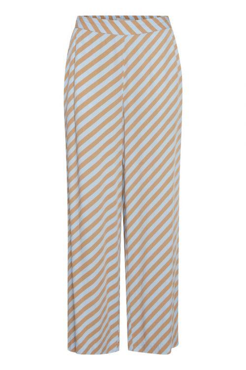 Ichi - Bukser - IH Imara Pants - Cashmere Blue