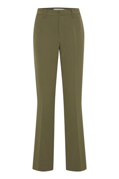 Ichi - Bukser - LEXI Pants - Ivy Green