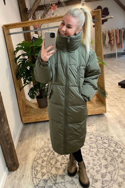 Ichi - Jakke - Bunala Down Jacket - Green
