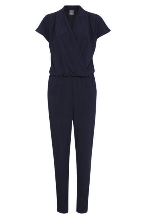 ICHI - Jumpsuit - Lima T-shirt Jumpsuit - Total Eclipse