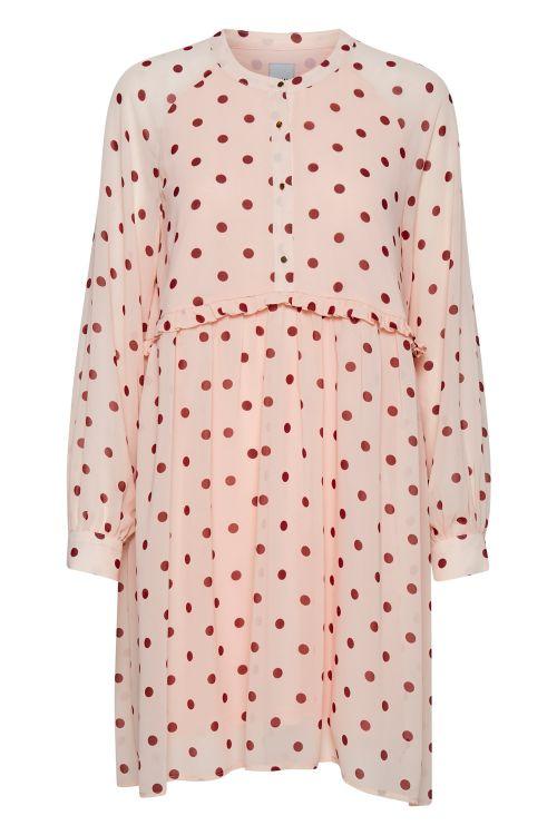 Ichi Kjole Darma Dress Rose Dust Front