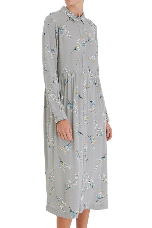 Ichi - Kjole - Firolla Dress - Alloy