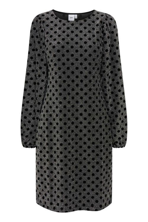 Ichi Kjole IX Emmes Dress Black Front
