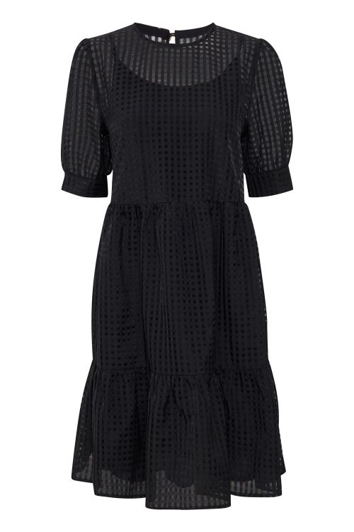 Ichi Kjole IX Mitzi Dress Black Front