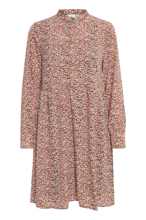 Ichi Kjole IX Sophie Dress Wild Rose Multi Front