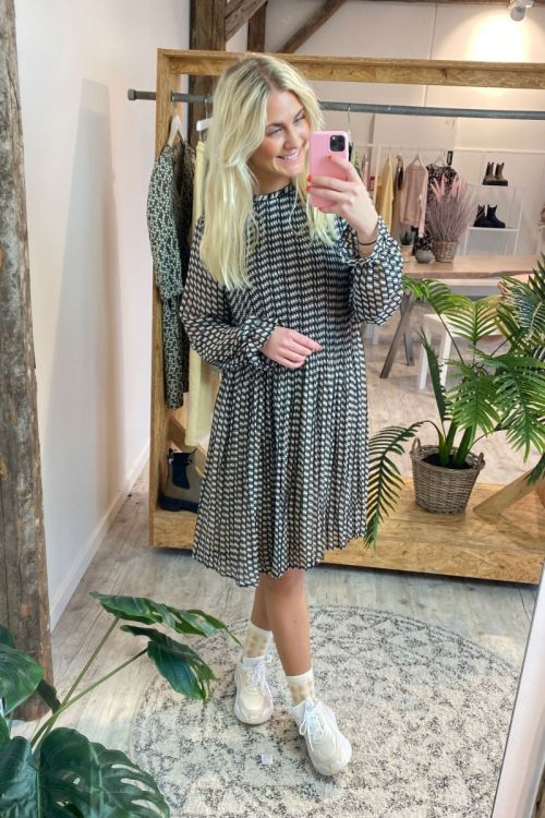Ichi - Kjole - Nally Dress - Tapioca