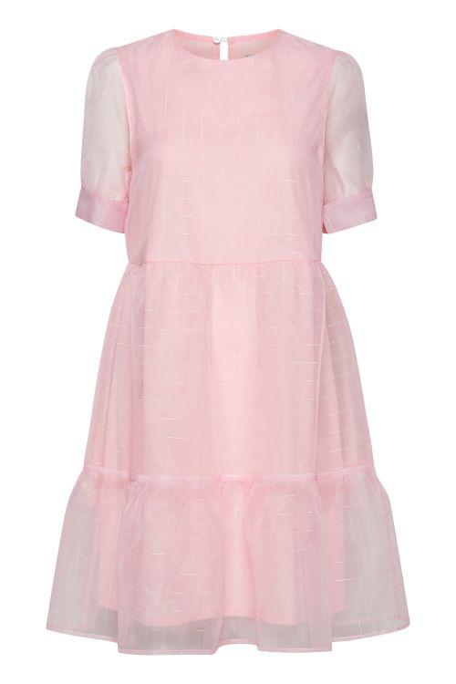 Ichi Kjole Pinky Dress Light Lilac Front