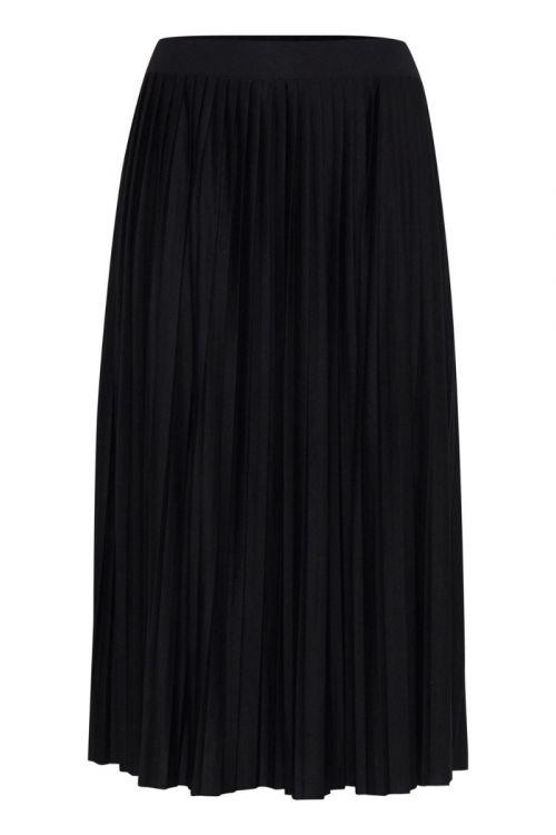 Ichi - Nederdel - IH Wimsy Skirt - Black