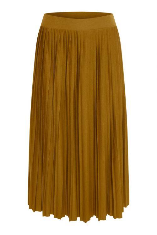 Ichi - Nederdel - IH Wimsy Skirt - Golden Brown