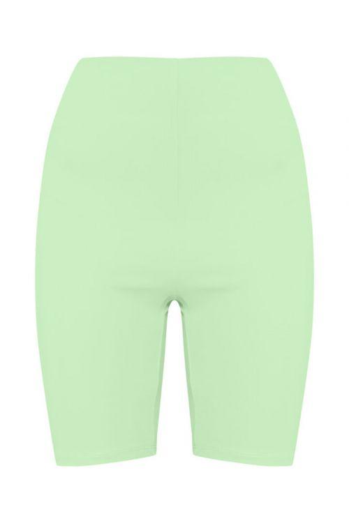 Ichi  Shorts  Iasiv Bike Shorts  Paradise Green Front