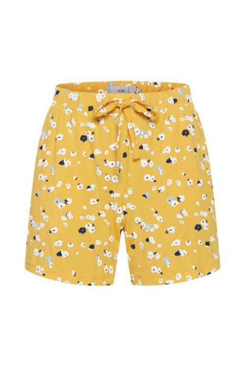 Ichi Shorts Lisa Shorts Buff Yellow Front