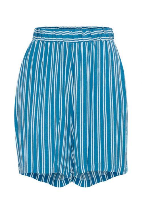 Ichi - Shorts - Marrakech AOP SHO - Coronet Blue