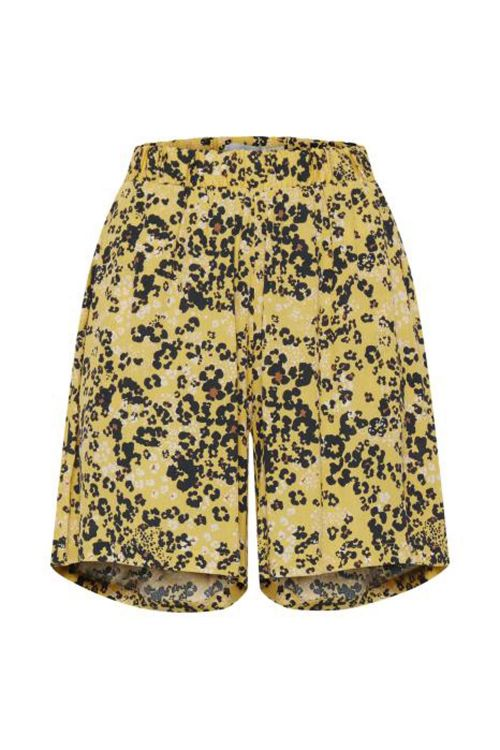 Ichi Shorts Marrakech Shorts Buff Yellow Front
