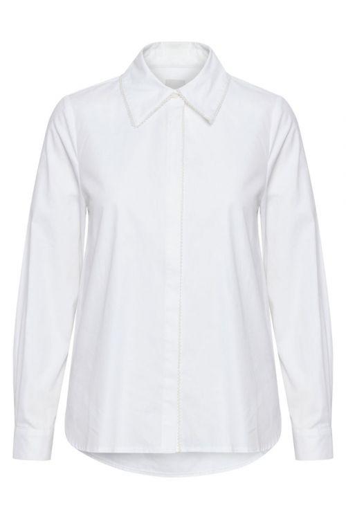 Ichi - Skjorte - IH Rubby Shirt - Bright White