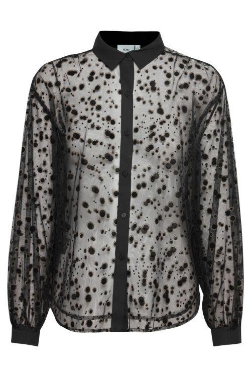 Ichi - Skjorte - IH Ronja Shirt - Black