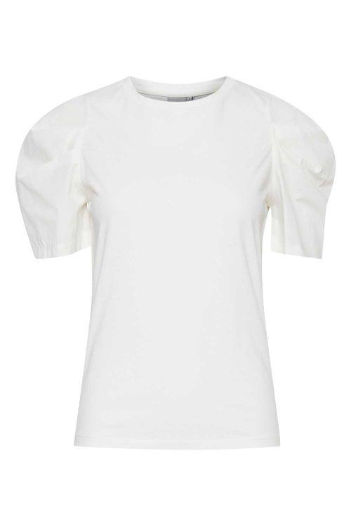 Ichi T-shirt Emilia SS Bright White Front