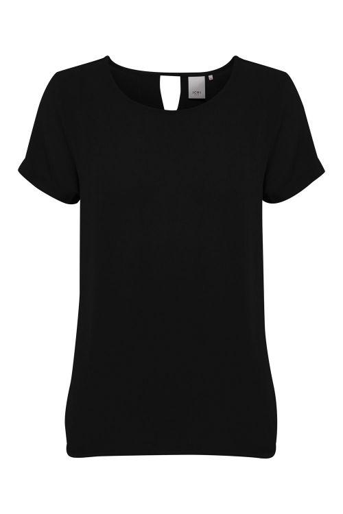 Ichi T-shirt IH Marrakech SO SS Black Front