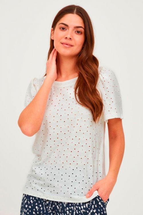 Ichi - T-shirt - Umay SS2 - Cloud Dancer