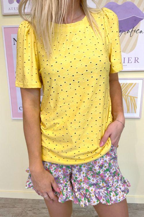 Ichi - T-shirt - Umay SS2 - Yarrow