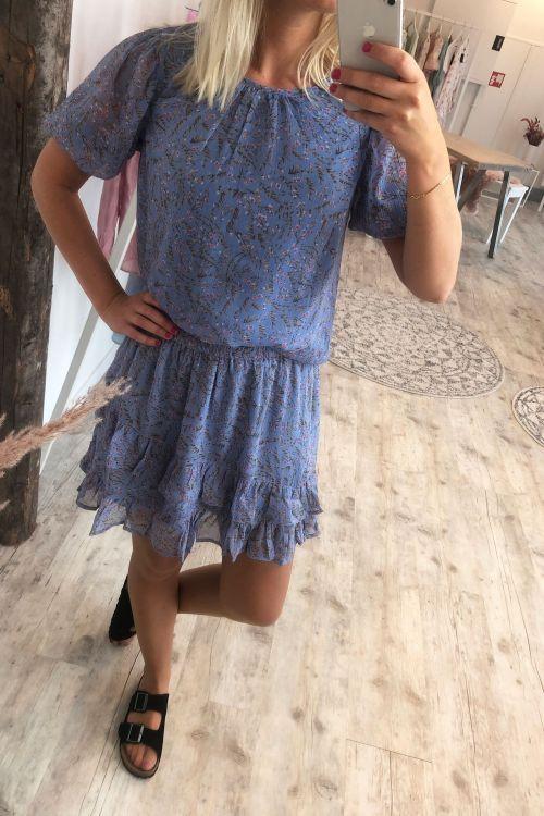 Jacqueline de Yong Bluse JDY Nelly 2/4 Puff Top Vista blue Hover