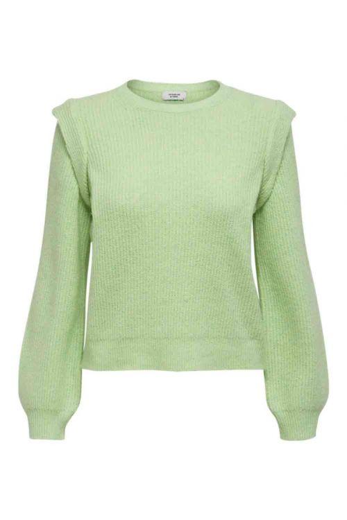 JDY - Emori LS Pullover Knit - Green Ash