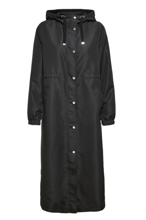 Jacqueline de Yong Jakke JDY Phoebe Life Jacket Black Front