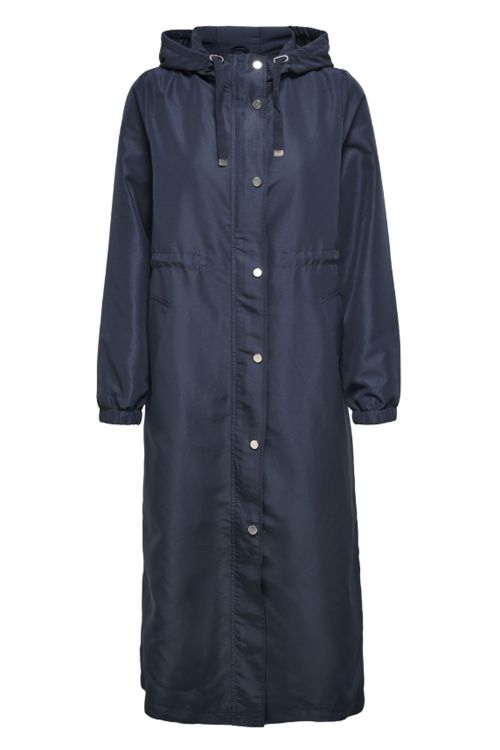Jacqueline de Yong Jakke JDY Phoebe Life Jacket Navy Blazer Front