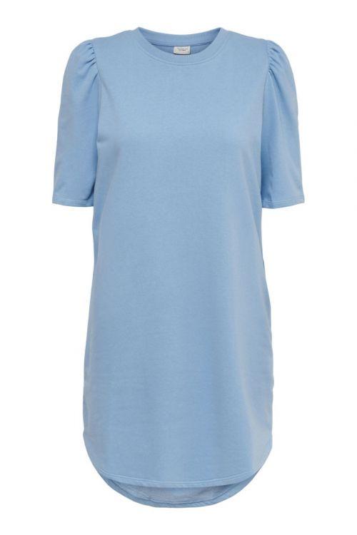 Jacqueline de Yong - Kjole - JDY Bine Ivy Life 2/4 Puff Dress - Dusk Blue