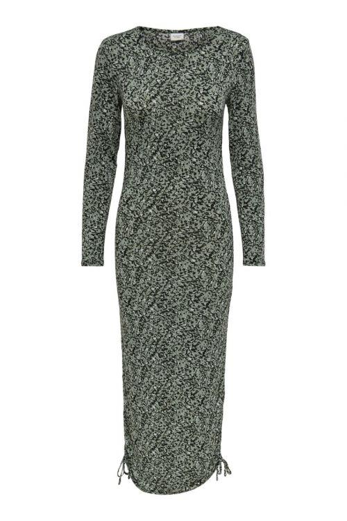 Jacqueline De Yong - Kjole - Dorit L/S Dress - Lily Pad