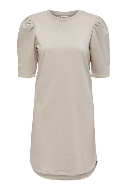 Jacqueline de Yong - Kjole - JDY Bine Ivy Life 2/4 Puff Dress - Chateau Gray
