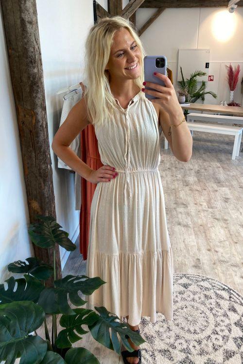 Jacqueline de Yong Kjole JDY Lima Life Dress Tapioca Hover