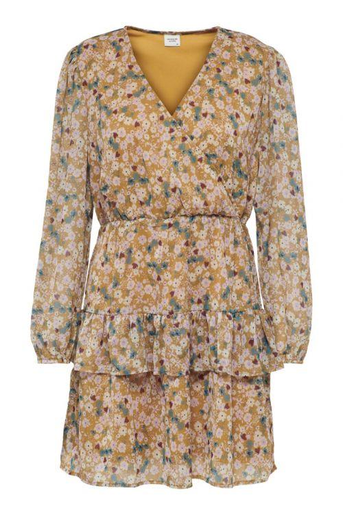 JDY - Kjole - JDY Penelope L/S Dress - Cathay Spice