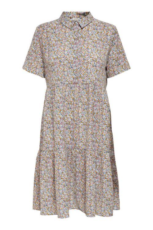 Jacqueline de Yong - Kjole - JDY Piper SS Shirt Dress - Blue Fog