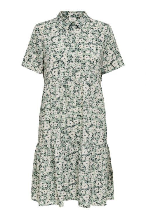 Jacqueline de Yong - Kjole - JDY Piper SS Shirt Dress - Jadeite