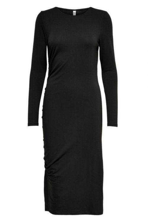 Jacqueline de Yong - Kjole - JDY - Stoll LS Dress - Black