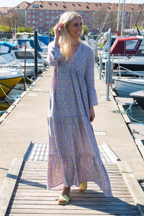 JDY Kjole Travis Life 7/8 Long Layer Dress Fairy Tale Hover