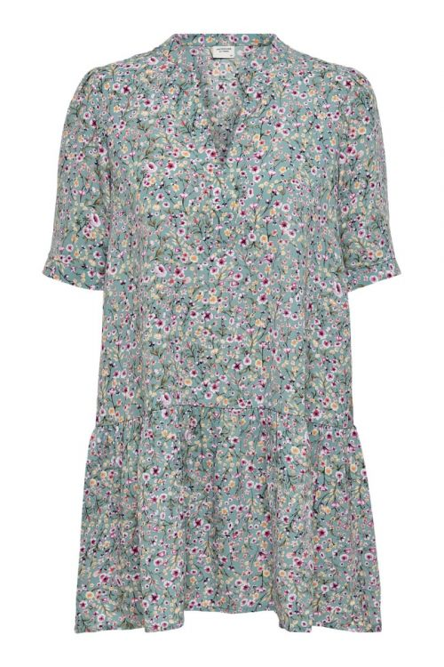 Jacqueline de Yong - Kjole - Urban 2/4 Short Dress - Forget-Me-Not