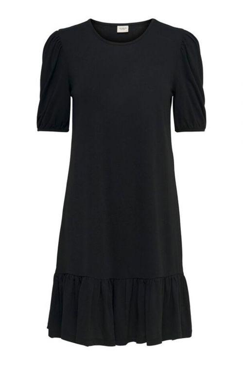 Jaqueline de Yong Kjole Urban Gabriella SS Dress Black Front