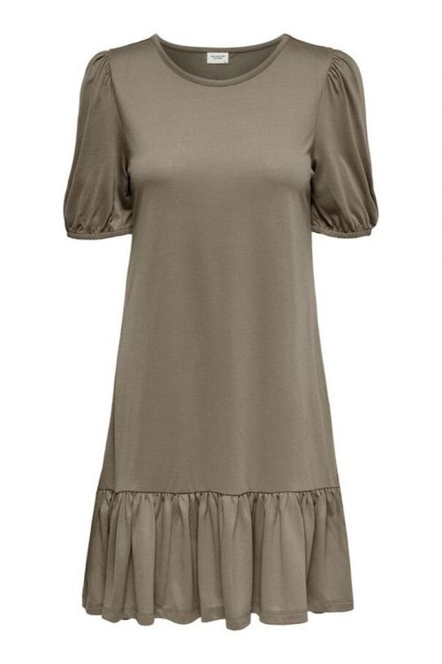 Jaqueline de Yong Kjole Urban Gabriella SS Dress Toasted Coconut Front